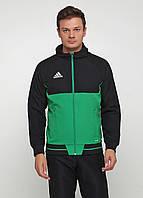 Кофти Кофта Adidas TIRO17 PRE JKT L, фото 1
