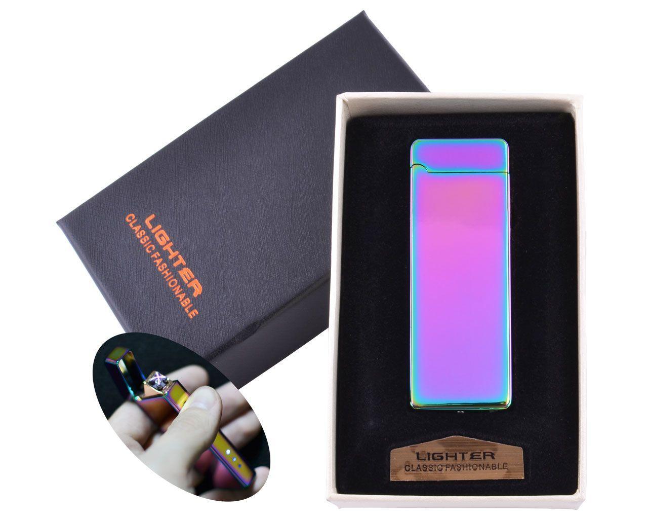 Зажигалка электроимпульсная USB №HL-31-1