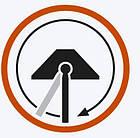 Щітка комбісистеми Гардена трикутна на шарнірі миюча, фото 10