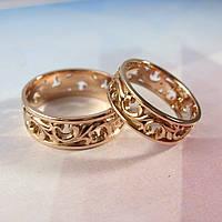 Ажурные обручальные кольца, фото 1