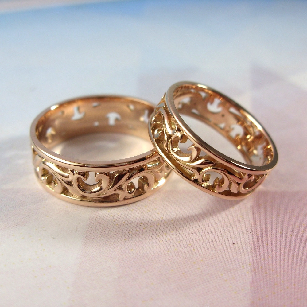 Ажурные обручальные кольца - купить по лучшей цене в Днепре от ... 572a151ffe54e