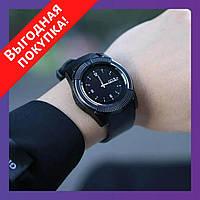 Сенсорные умные смарт часы Smart Watch V8 / Спортивные часы с большим количеством функций - ЧЕРНЫЕ