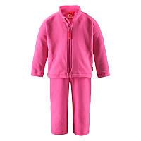 Комплект флисовый (кардиган + штаны) Reima Basil Код 516074-3430 размеры на рост 86, 92, 98 см