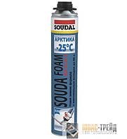 ТМ SOUDAL Soudafoam Maxi Aрктика - полиуретановая монтажная пена (ТМ Соудал Соудафом Макси Арктика), 870мл