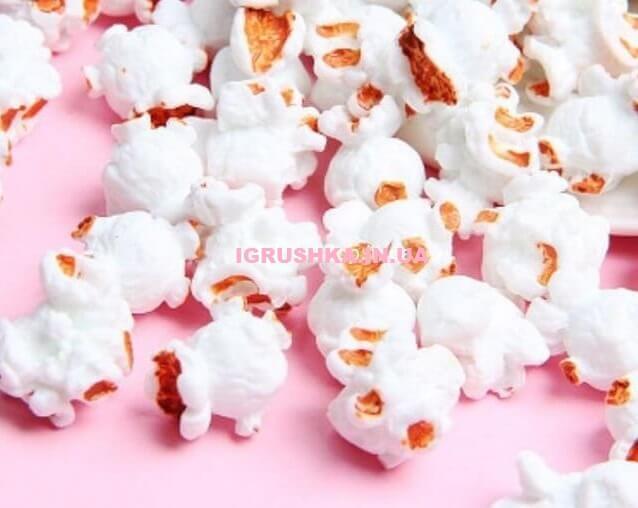 Шарм «Искусственный белый попкорн» для слайма
