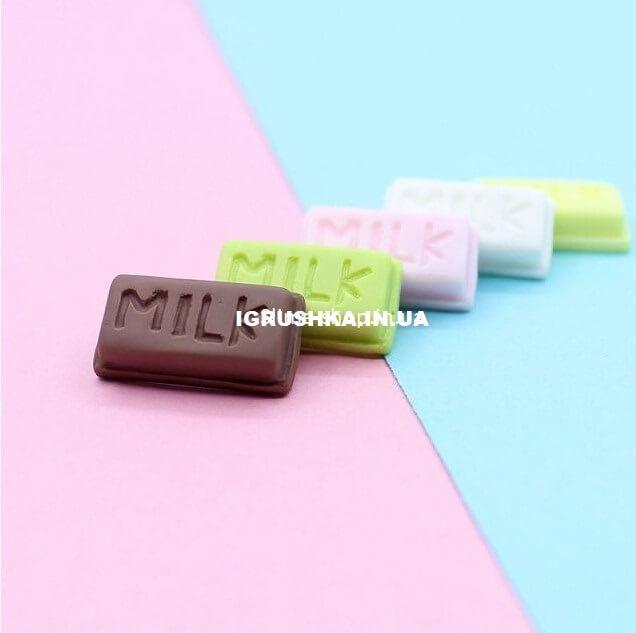 Шарм «Долька шоколада» для слайма