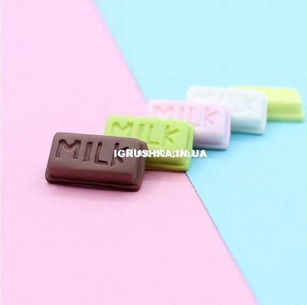 Шарм «Долька шоколада» для слайма, фото 2
