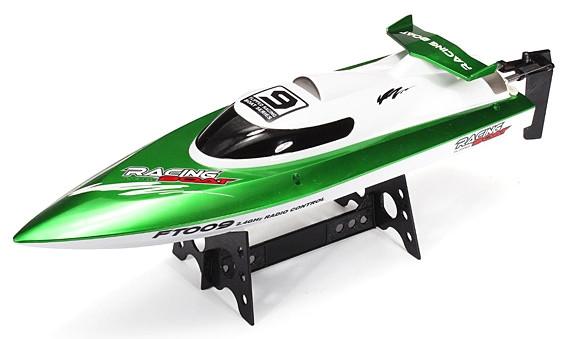 Катер на р/у Fei Lun - FT009 High Speed Boat, 2.4GHz, зеленый