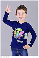 """Футболка с длинным рукавом для мальчика """"Фиксики"""" на рост 116 см"""
