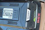 Аккумуляторная цепная пила Powerworks 82V 2000313 / Greenworks 82V GD82CS50 с АКБ 2,5 Ач и ЗУ, фото 6