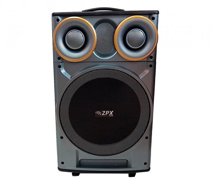 Акустическая портативная колонка комбик ZPX-7777 | Микрофон, Bluetooth, USB