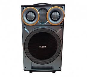 Акустическая портативная колонка комбик ZPX-7777 | Микрофон, Bluetooth, USB, фото 2