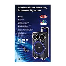 Акустическая портативная колонка комбик ZPX-7777 | Микрофон, Bluetooth, USB, фото 3