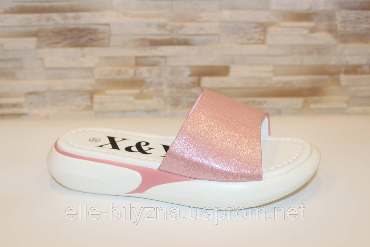 Шлепанцы женские розовые Б1026 39
