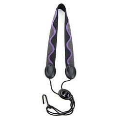 Ремінь для духових інструментів RICO SJA01 Rico Fabric Sax Strap (Jazz Wave) with Metal Hook