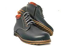 Ботинки мужские cтильные с натуральной кожи, фото 1