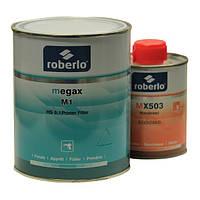 Грунт акриловый ROBERLO MEGAX M1, светлосерый