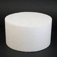 Пенопластовый фальш-ярус для торта d14 см.
