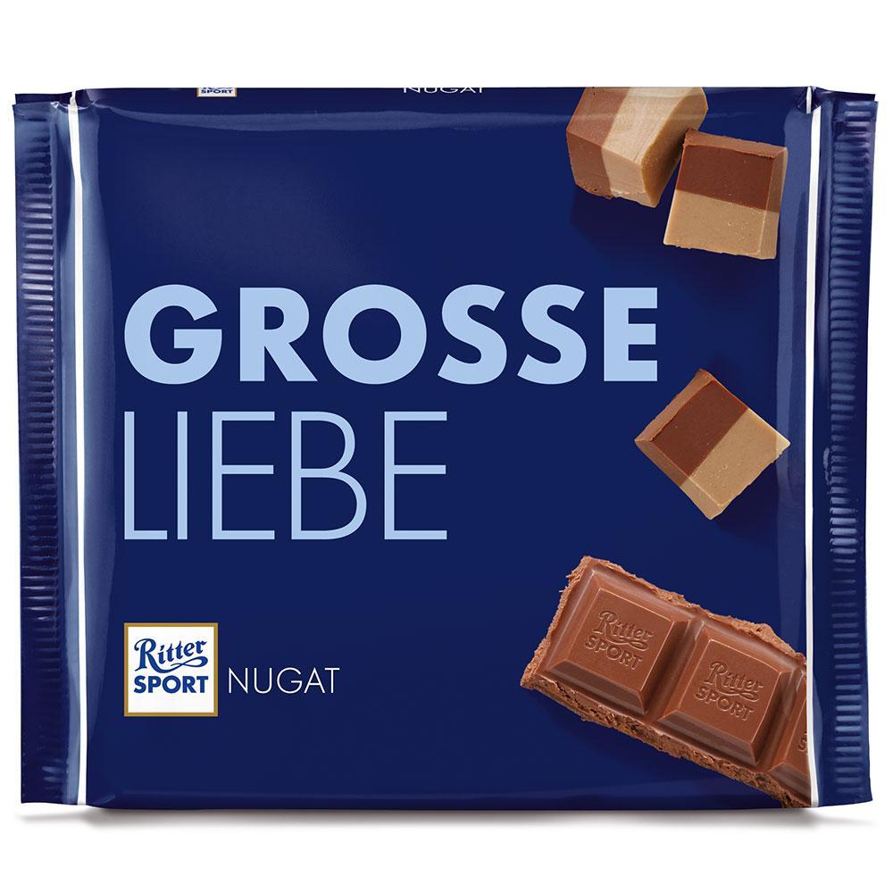 Шоколад  Ritter Sport Grosse Liebe Nugat  250 g