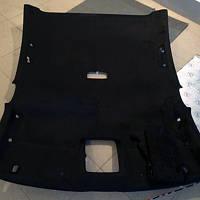 Алькантара самоклеющаяся черная на ткани (Корея)