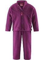 Комплект флисовый (кардиган + штаны) Reima Basil Код 516074-4870 размеры на рост 80, 86, 92 см