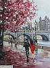 «Улицами осеннего города» картина маслом