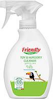 Органічне очищаючий засіб для дитячої кімнати та іграшок Friendly Organic 250 мл