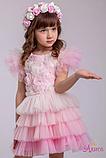 Карнавальный костюм  для девочки цветок  Роза, фото 3