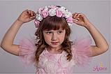 Карнавальный костюм  для девочки цветок  Роза, фото 4