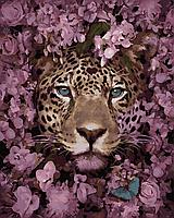 "Картина по номерам. Brushme ""Взгляд леопарда"" GX35362"