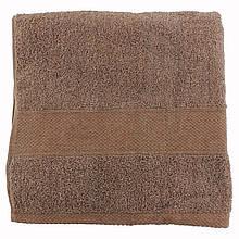 Полотенце банное для тела махровое махра 70х140см коричневый