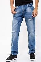 Джинсы мужские 129R8801-3 цвет Синий