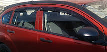 Дефлекторы окон Dodge Caliber 5d 2007   Ветровики Додж Калибр