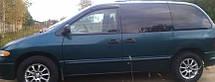 Ветровики Додж Караван   Дефлекторы окон Dodge Caravan III 1995-2000