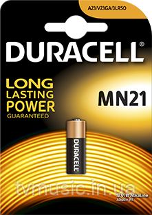 Батарейка Duracell A23 / V23GA / 3LR50