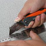 Sheffield S067220 Профи Складной универсальный нож . Многофункциональный карманный . Лезвия SK5 трапеция, фото 2