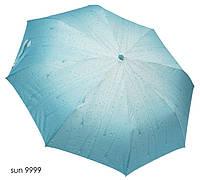 Зонт женский полуавтомат капли дождя, фото 1