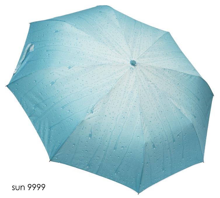 Зонт женский полуавтомат капли дождя