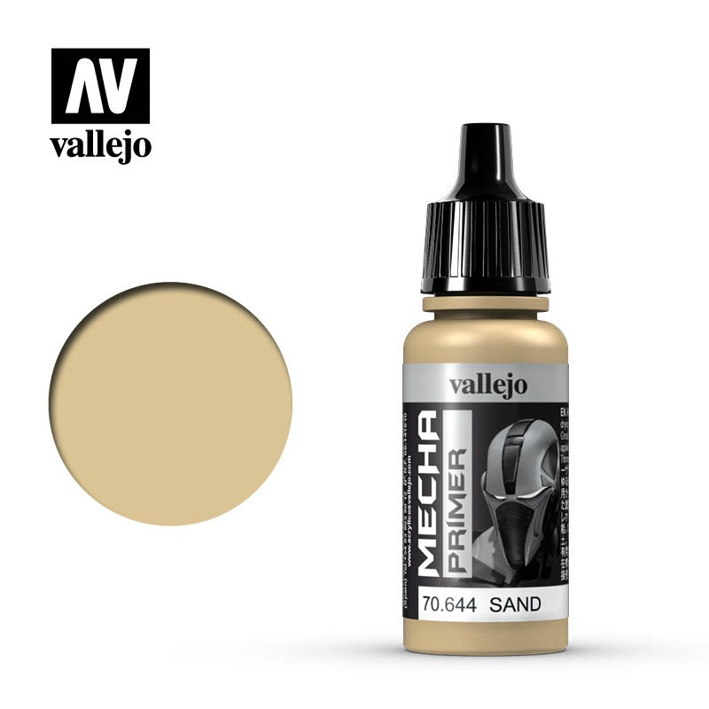 Акрил-полиуретановая грунтовка Песок 17 мл. VALLEJO Mecha Color 70644
