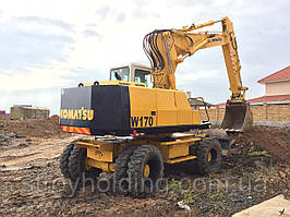 Услуги колесного экскаватора Komatsu W170 ковш 1 куб.м