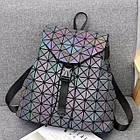 Женский рюкзак хамелеон Бао Бао ночной алмаз , городской рюкзак сумка Bao Bao, фото 5