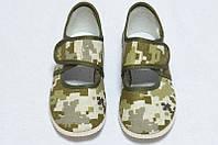 Детская обувь дошкольная хаки
