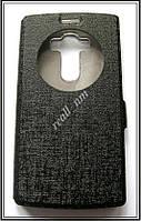 Черный Silk MC чехол-книжка Quick Circle для смартфона LG G4s H734, фото 1