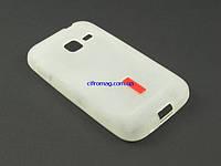 Чехол TPU для Samsung Galaxy Ace S6802 белый