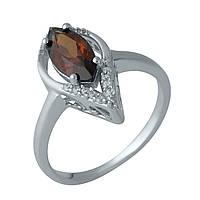 Серебряное кольцо DreamJewelry с натуральным гранатом (1987551) 18.5 размер, фото 1