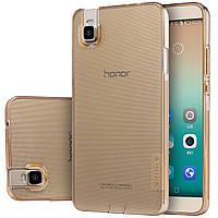 TPU чехол Nillkin для Huawei Honor 7 коричневий, фото 1