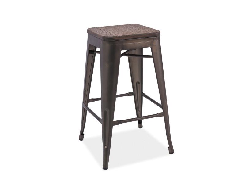 Барное кресло Signal Long graphite