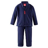 Комплект флисовый (кардиган + штаны) Reima Basil Код 516074-6980 размеры на рост 80 см