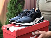 Модные мужские кроссовки черного цвета с белым с 41 по 46  размер, фото 3