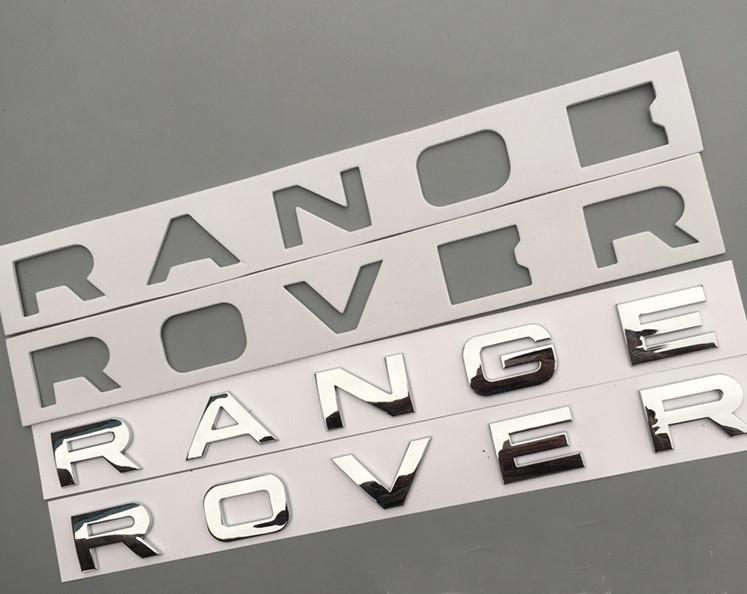 Напис Range Rover (хром)